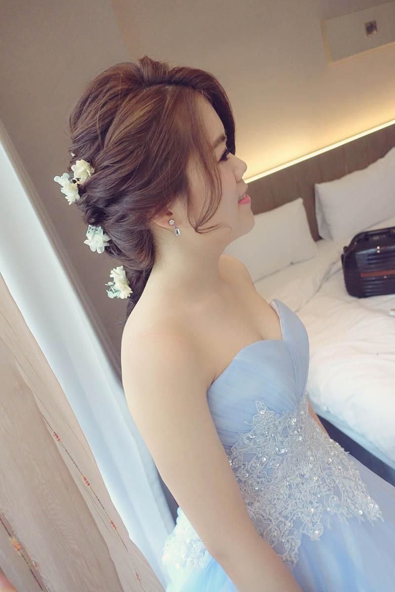 婚禮造型,新娘秘書,苗栗尚順君樂飯店,新娘秘書EVA