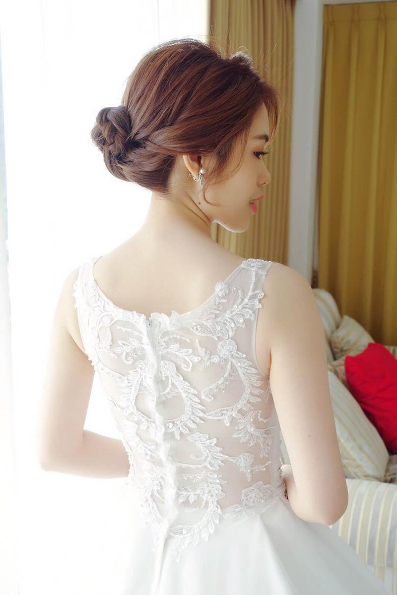 婚禮造型,新娘秘書,山頂會館,新娘秘書EVA