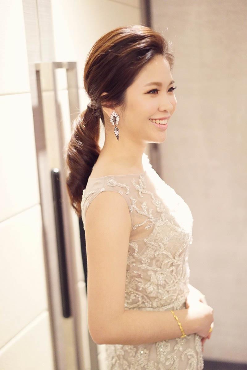 婚紗造型,新娘秘書, Q Wedding ,婚禮攝影, 台中永豐棧酒店,新娘秘書MEI
