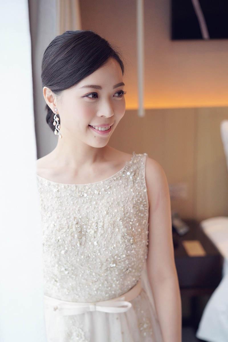 婚紗造型,新娘秘書, Q Wedding ,婚紗拍攝, 寒舍艾美酒店,新娘秘書MEI