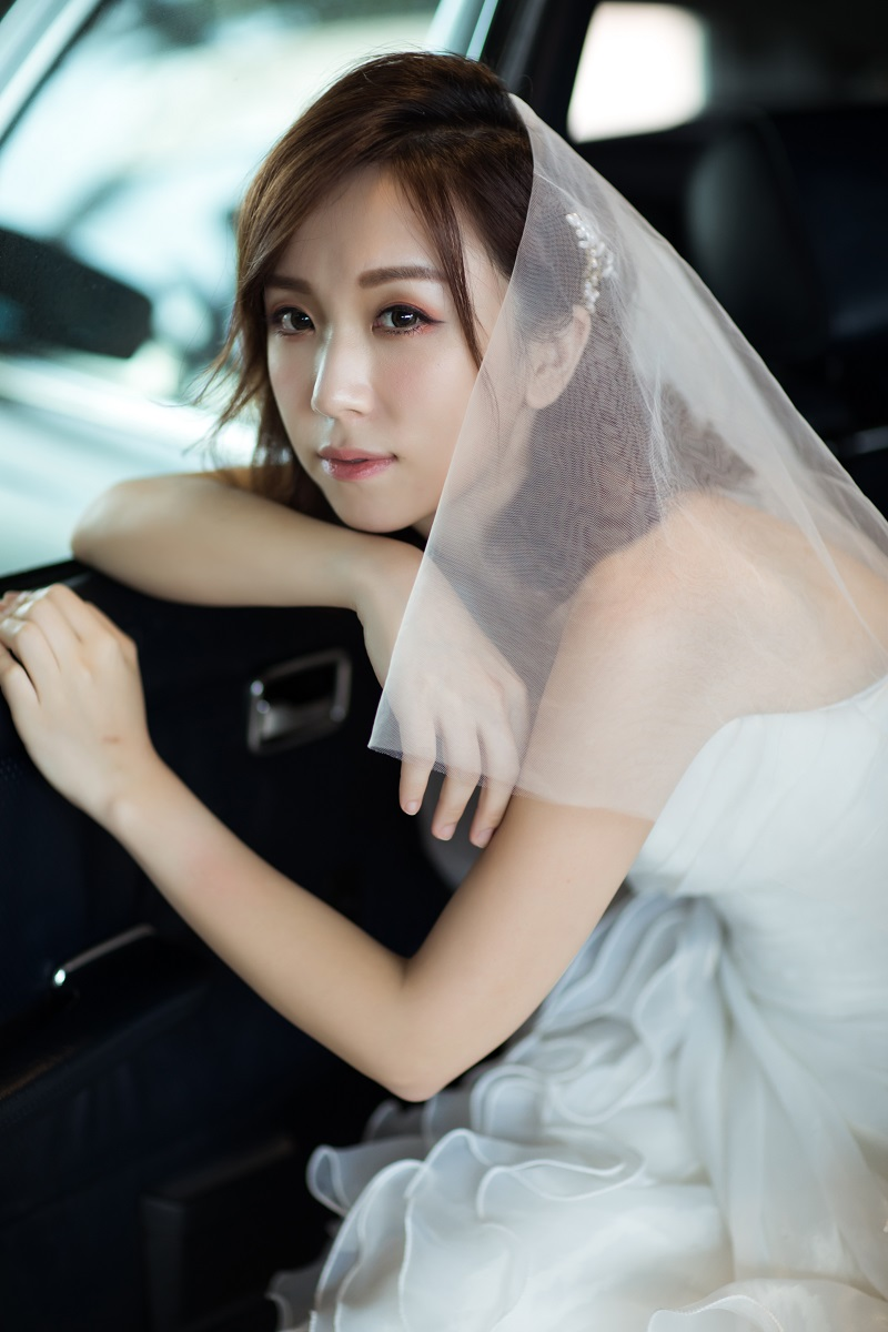 婚紗造型,新娘秘書,左邊。wedding studio,新娘秘書MEI