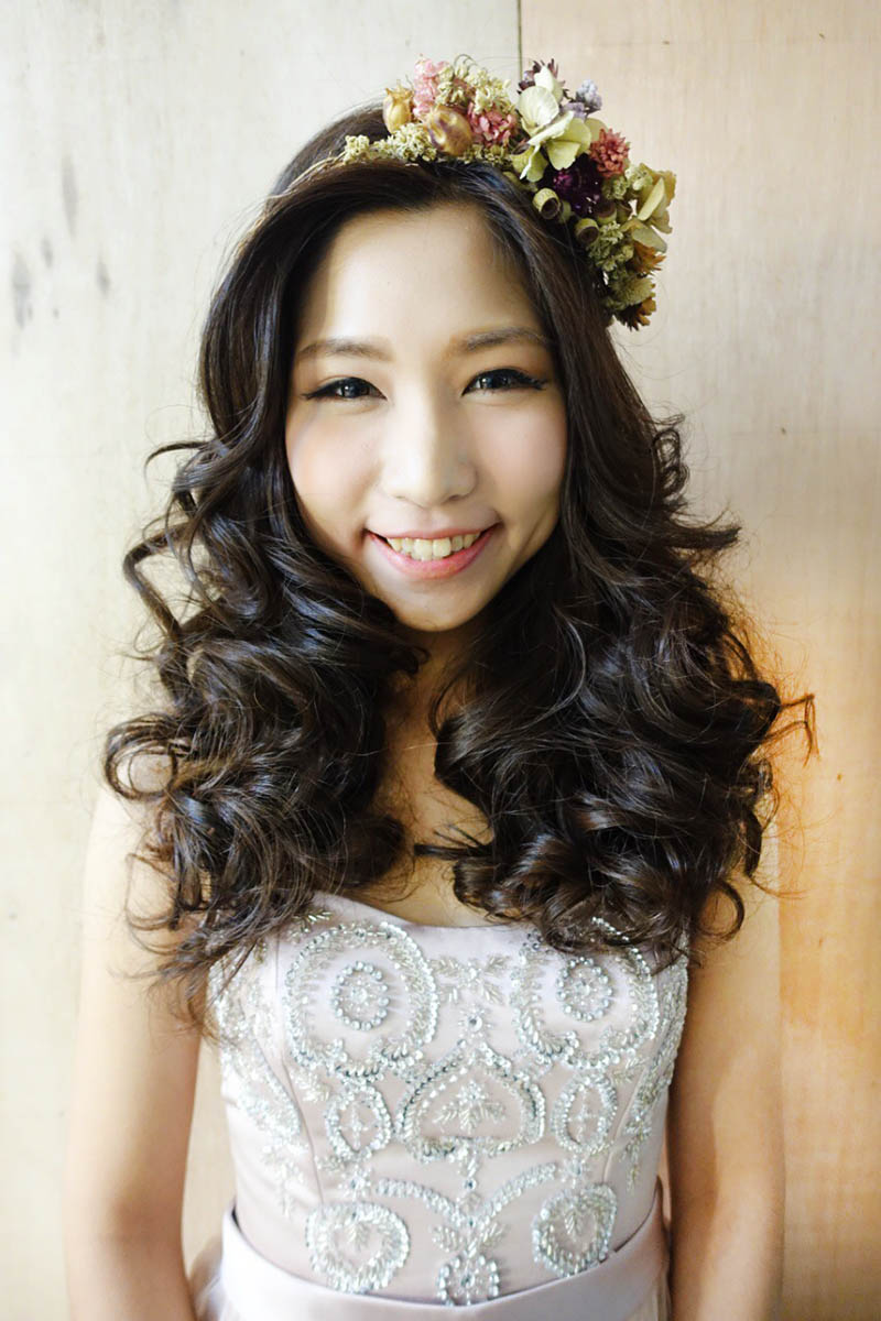 婚禮造型,新娘秘書,新娘秘書JU