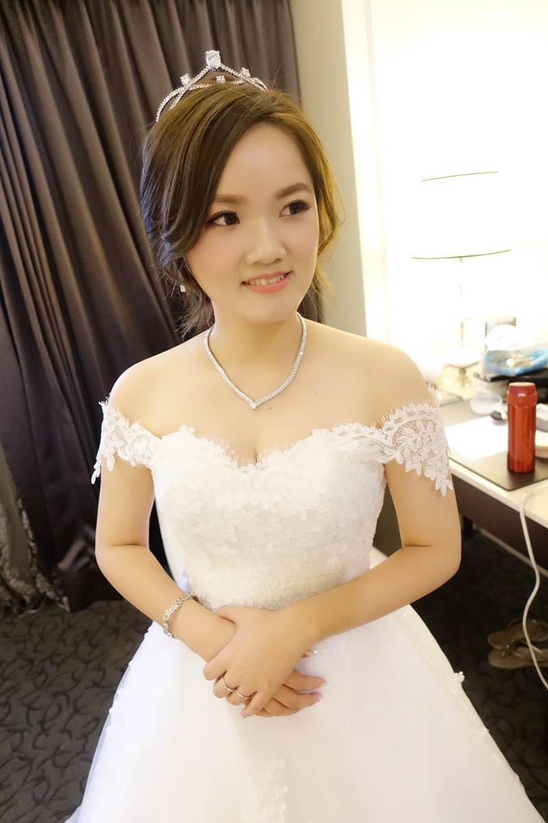 婚禮造型,新娘秘書,台北富信大飯店,新娘秘書JU