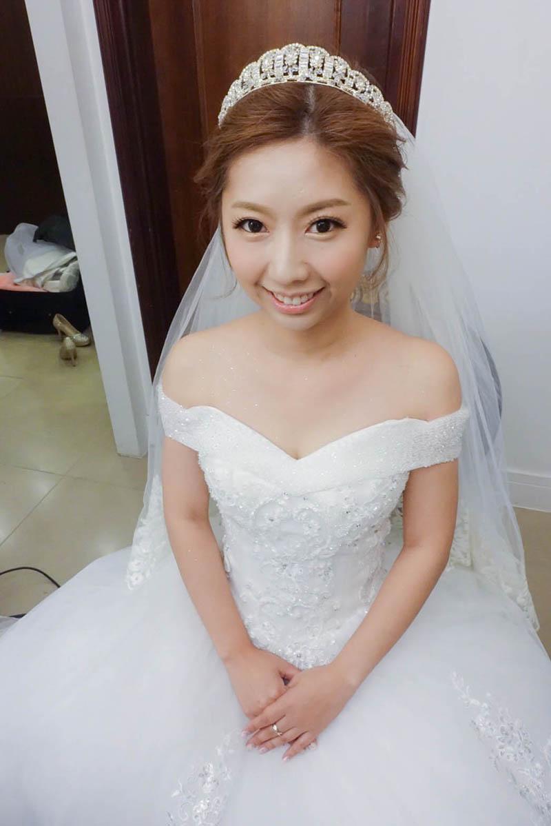 婚禮造型,新娘秘書,香格里拉,新娘秘書EVA